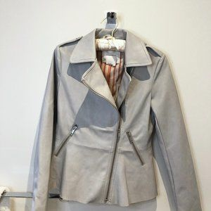 NWT Anthropologie Faux Leather Jacket